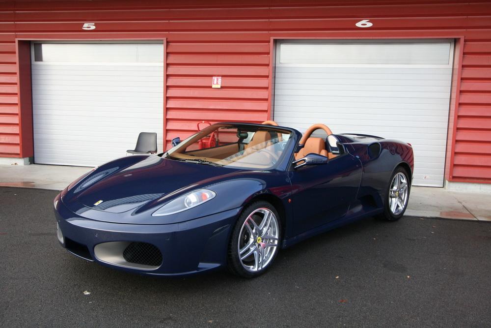 Essai Ferrari F430 Spider