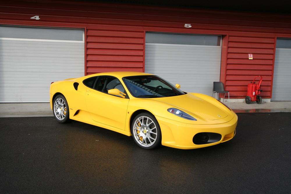 Essai Ferrari F430 F1