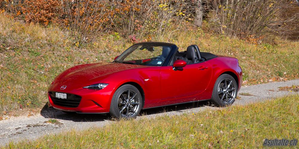 Essai Mazda MX-5 ND 1.5 & 2.0L