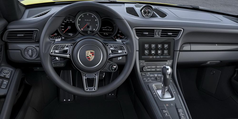 Porsche 991.2 Turbo S Lenkrad