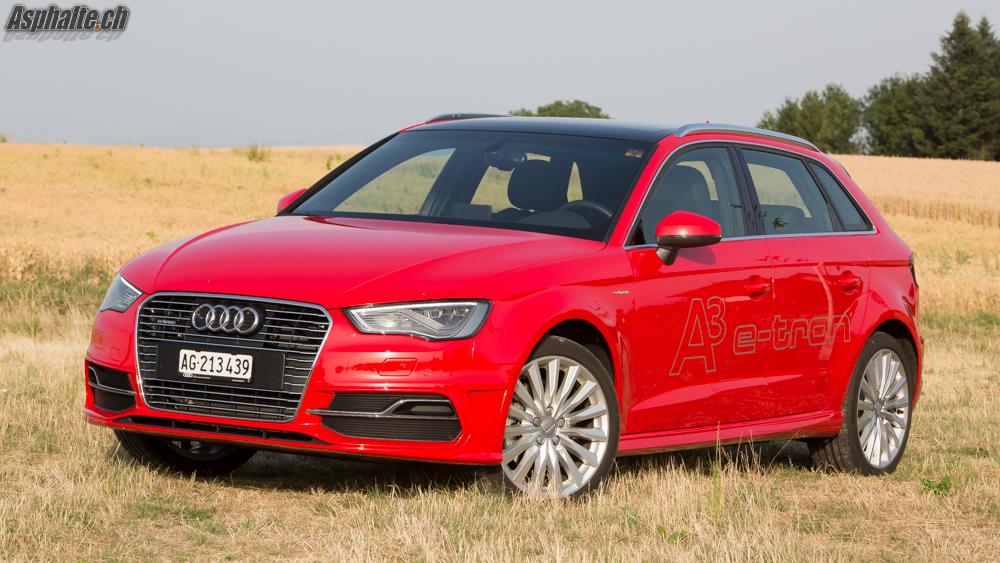 Essai Audi A3 e-tron Sportback