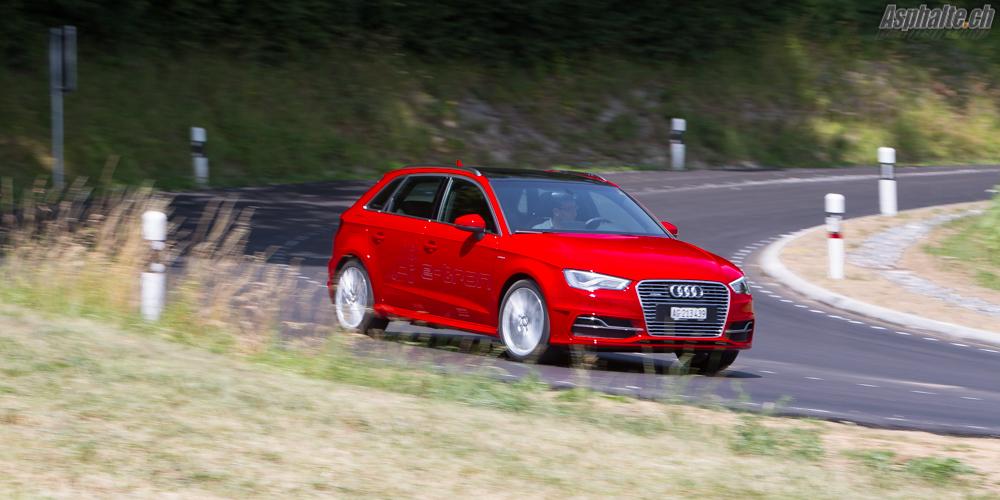 Essai Audi A3 e-tron