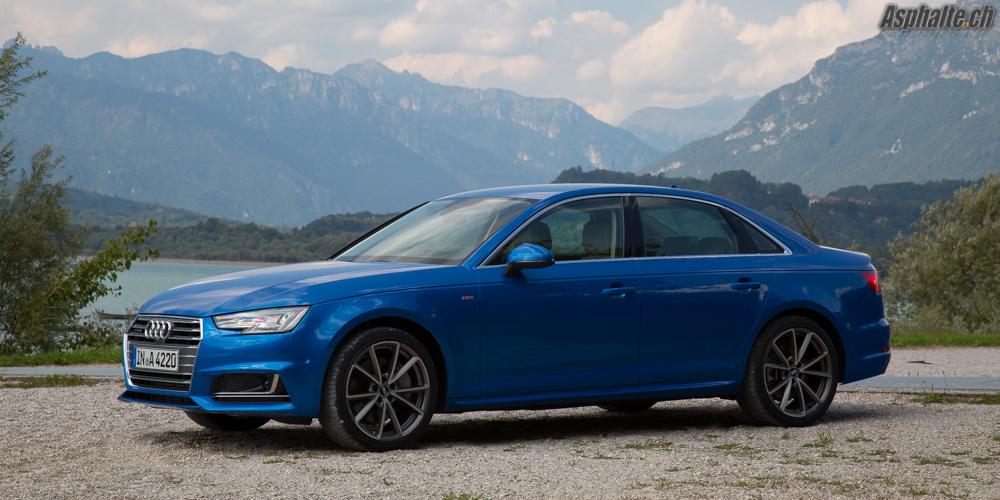 Essai Audi A4 B9 2.0 TFSI