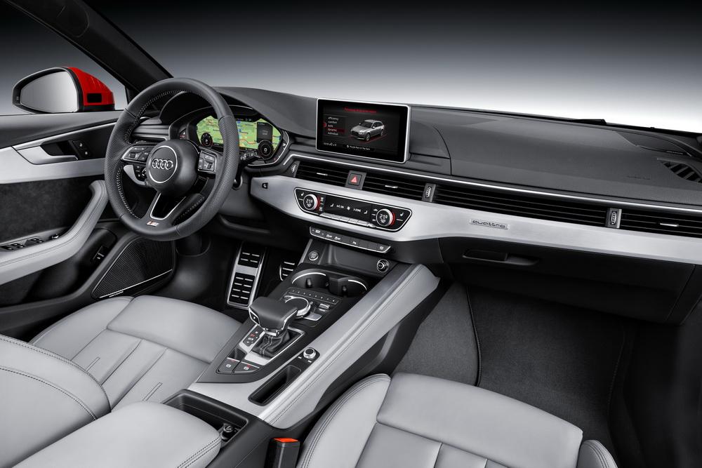 Audi A4 B9 intérieur