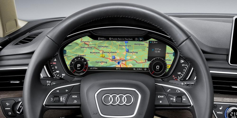 Audi A4 B9: Audi Virtual Cockpit