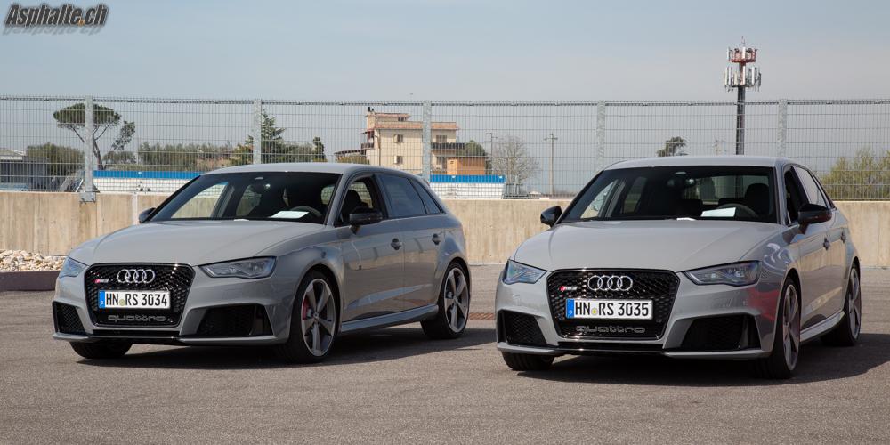 Essai Audi RS3 Sportback (8V) Nardo Grey