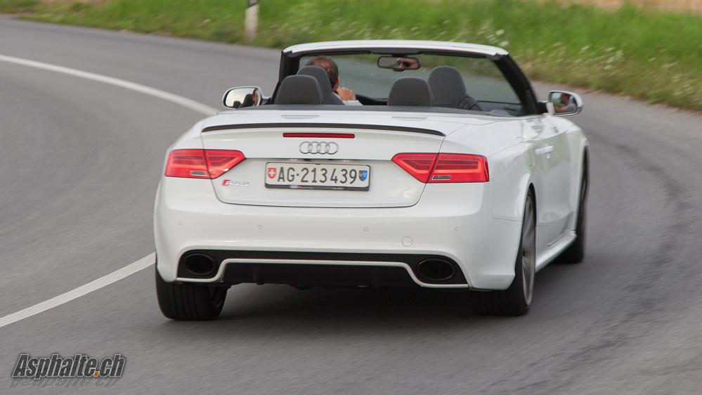 Essai Audi RS5 Cabriolet
