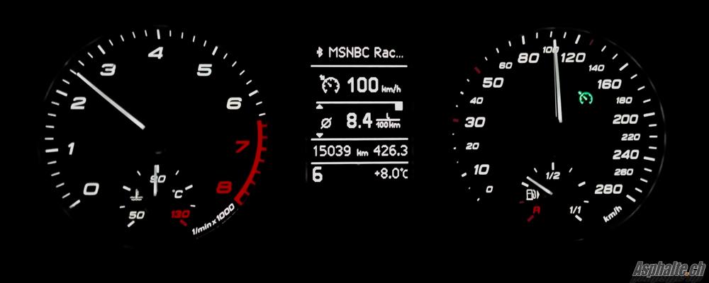 Essai Audi S1 Sportback - Instruments