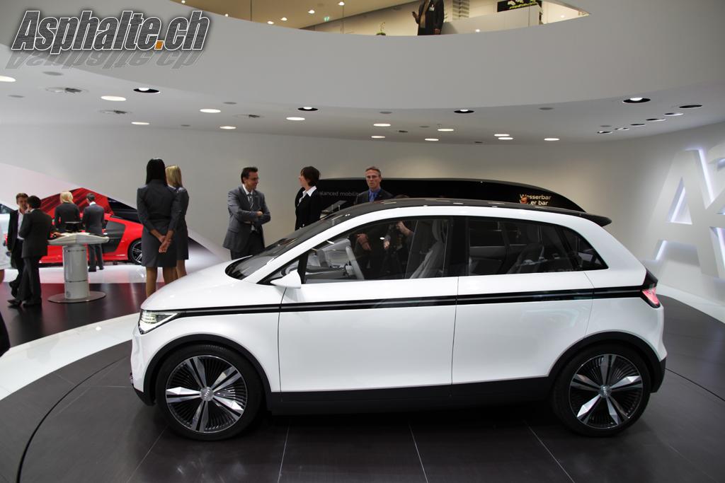 Frankfurt 2011 Audi A2 Concept Asphalte