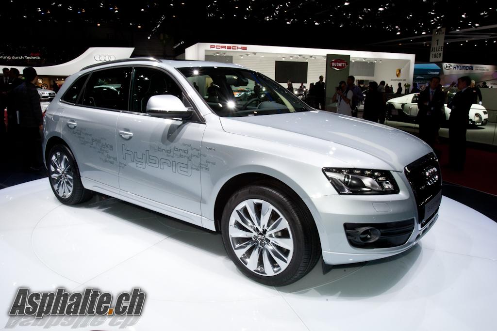 Audi Q5 hybrid Salon Genève 2011