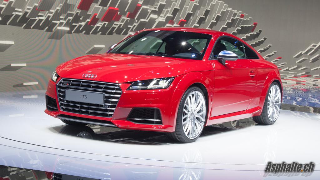 Geneva 2014 Audi Tt Amp Tts Mk3 Asphalte Ch