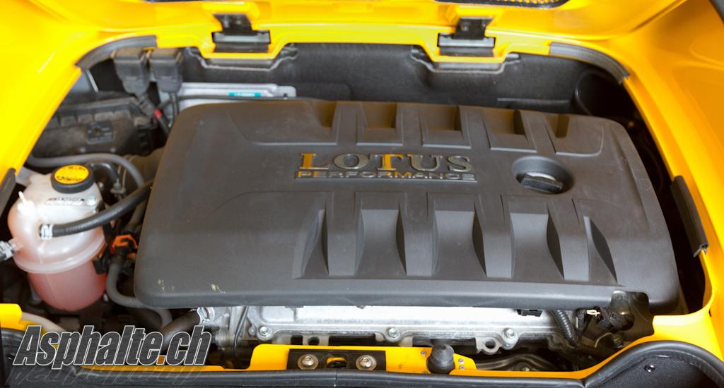 Lotus Elise Club Racer: moteur