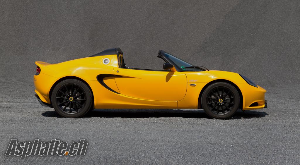Essai Lotus Elise Club Racer
