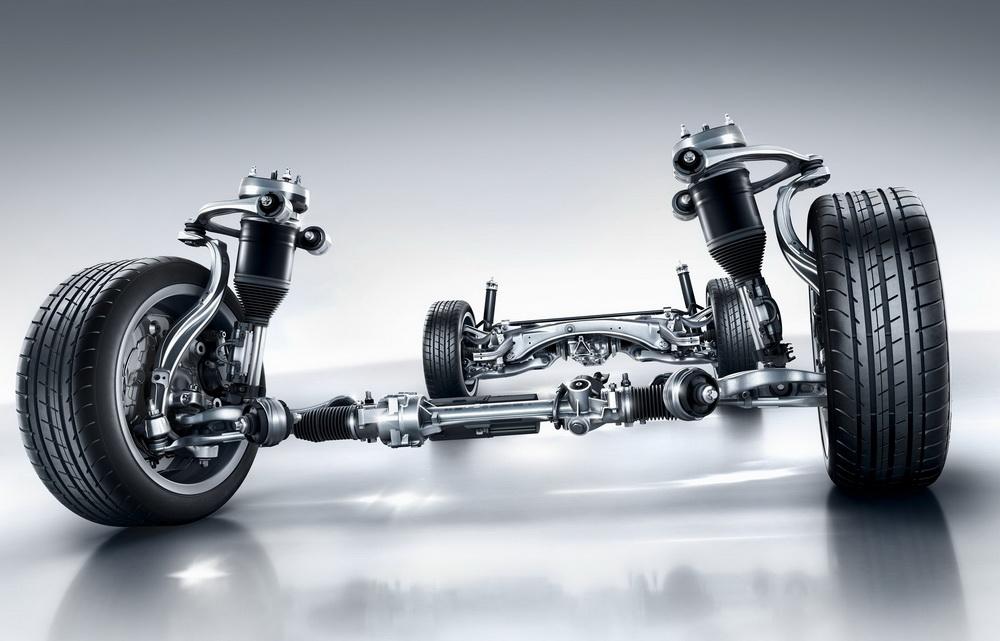 Merceces Classe C: suspension AirMatic
