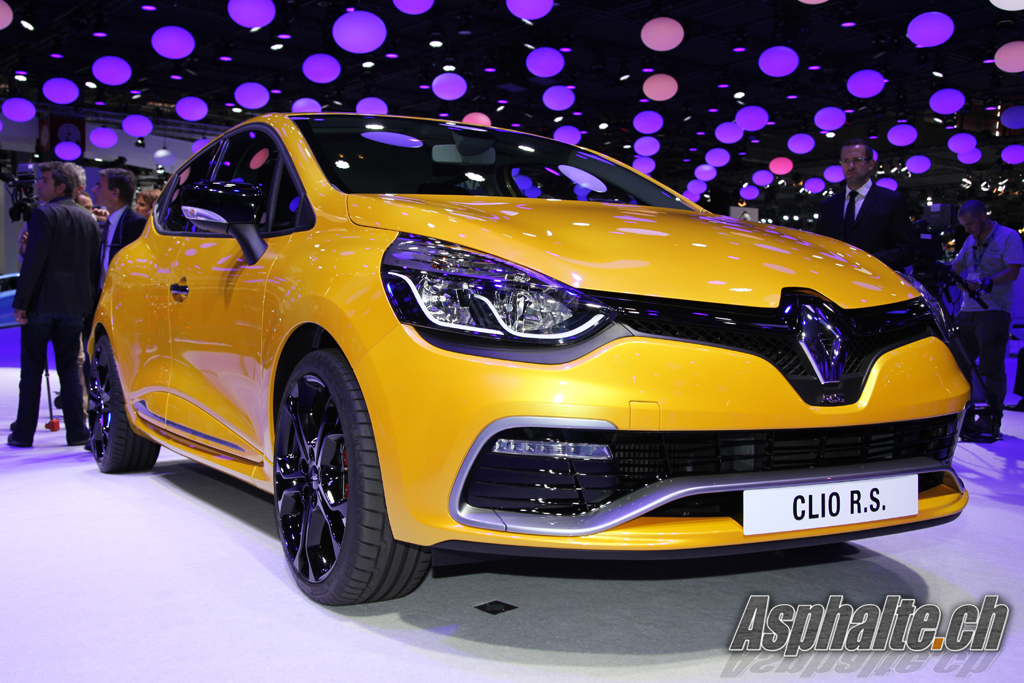 Paris 2012: Renault Clio Sport RS 4