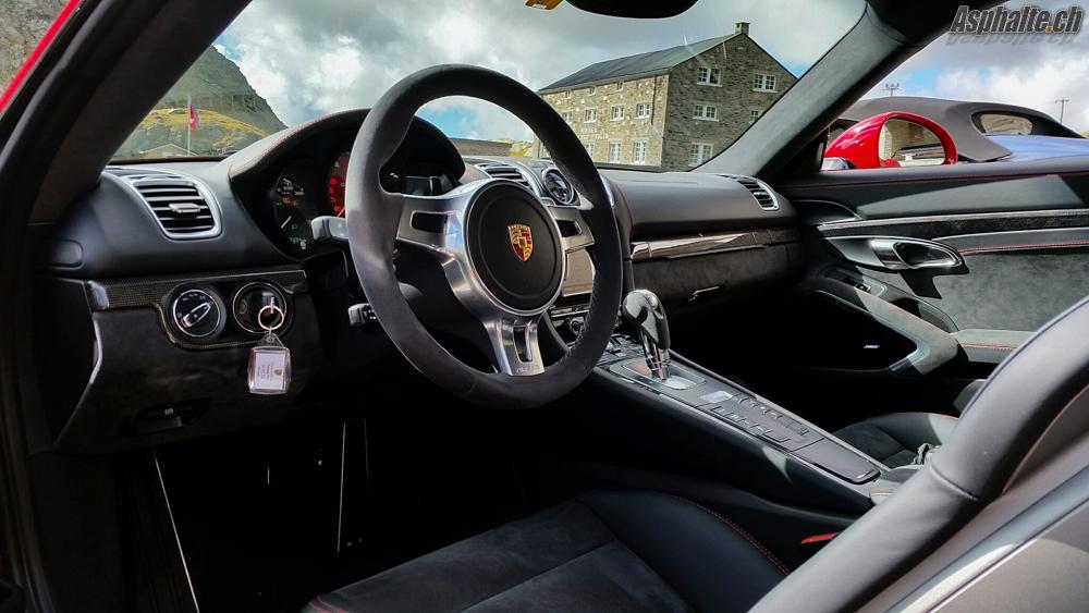 Essai Porsche Cayman GTS - intérieur