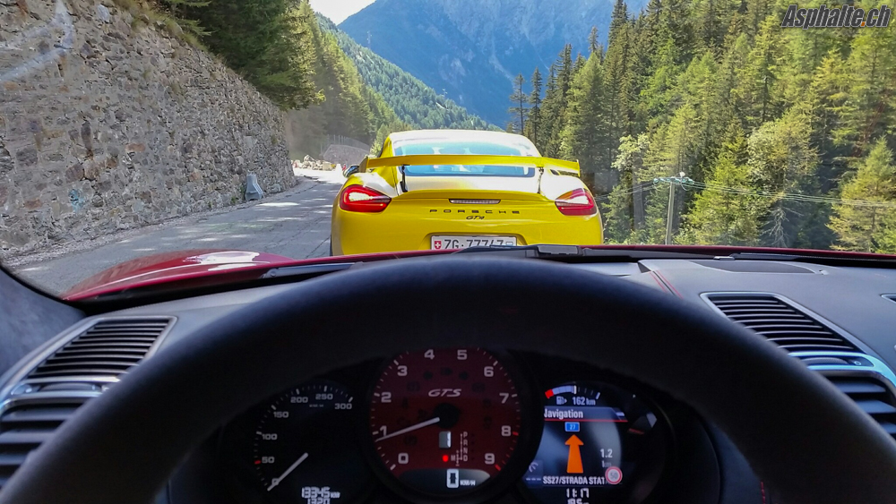 Essai Porsche Cayman 981 GTS & GT4