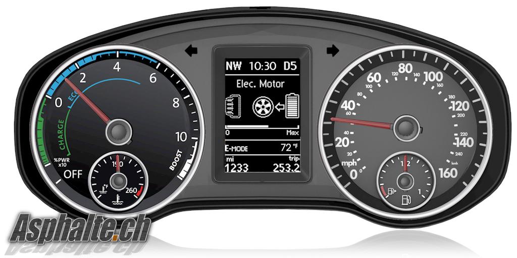 Detroit 2012 Vw Jetta Hybrid Asphalte Ch