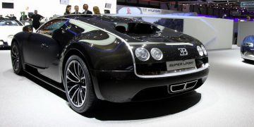 Genève 2011 Bugatti Veyron Supersport