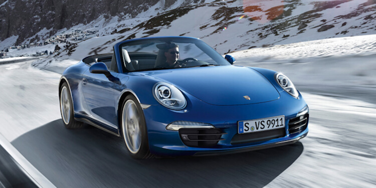 Porsche 911 Carrera 4 Type 991