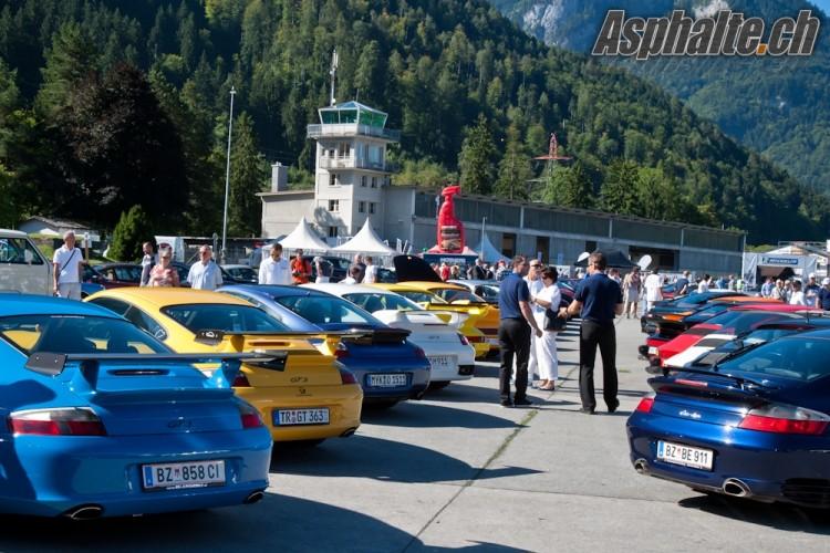 Porsche Showtime Interlaken 2012
