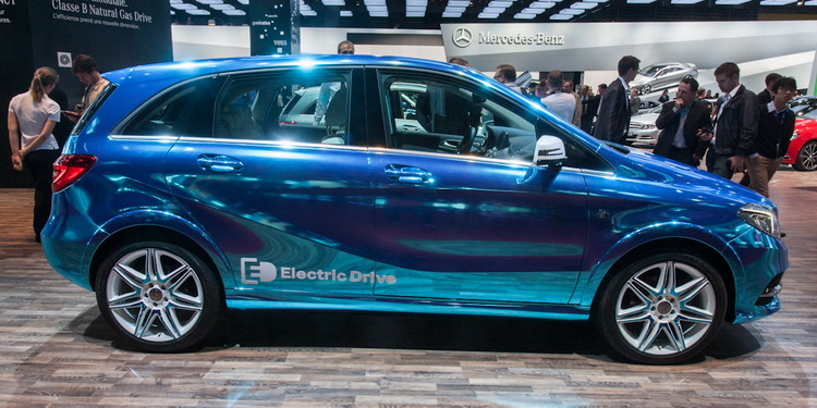 Mercedes Classe B Electric Drive Paris 2012