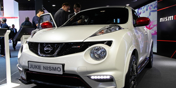 Nissan Juke Nismo Paris 2012