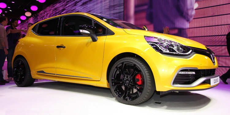 Renault Clio RS IV Paris 2012