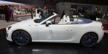 Genève 2013 Toyota FT-86 open concept