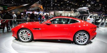 Los Angeles 2013 Jaguar F-type coupé