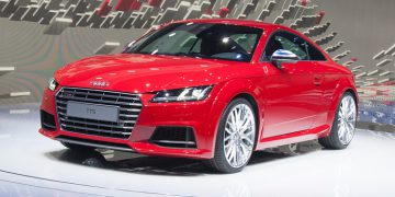 Geneva 2014 Audi TT & TTS mk3
