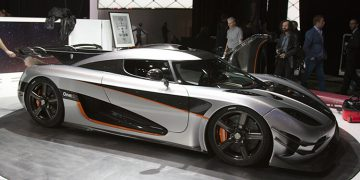 Koenigsegg One 1 the megawatt hypercar