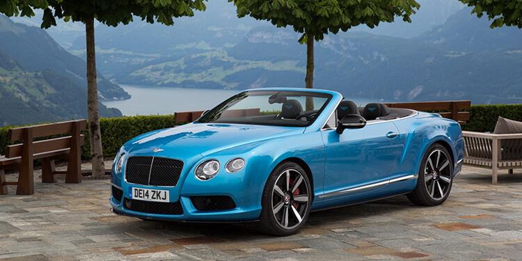 Bentley Continental GTC V8 S délices des sens