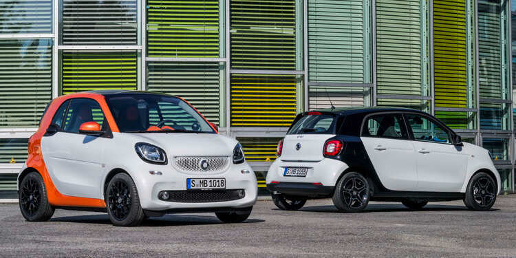 Smart fortwo & forfour