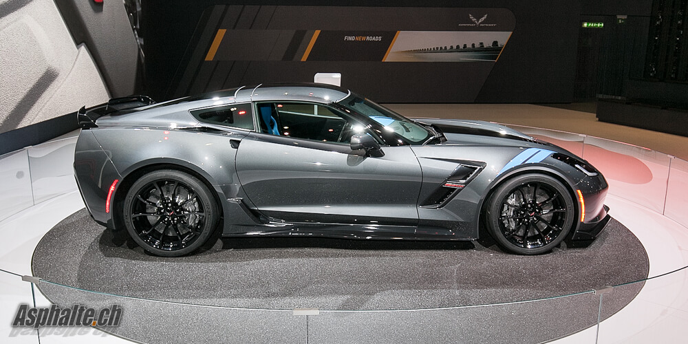 Gen 232 Ve 2016 Corvette Grand Sport Asphalte Ch