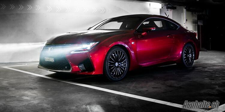 Essai Lexus RC F