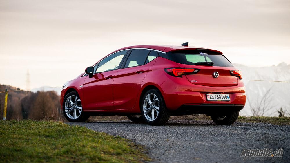 Essai Opel Astra K 1.6 CDTi