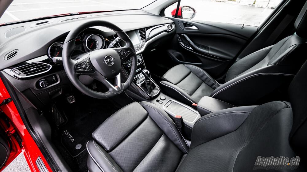 Essai Opel Astra K 1.6 CDTi intérieur