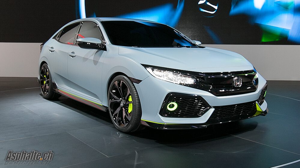 Gen 232 Ve 2016 Honda Civic Hatchback Prototype Asphalte Ch