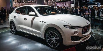 Salon Genève 2016 Maserati Levante