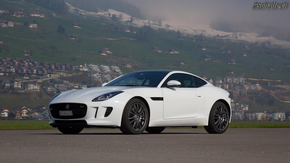 Essai Jaguar F-Type V6S AWD