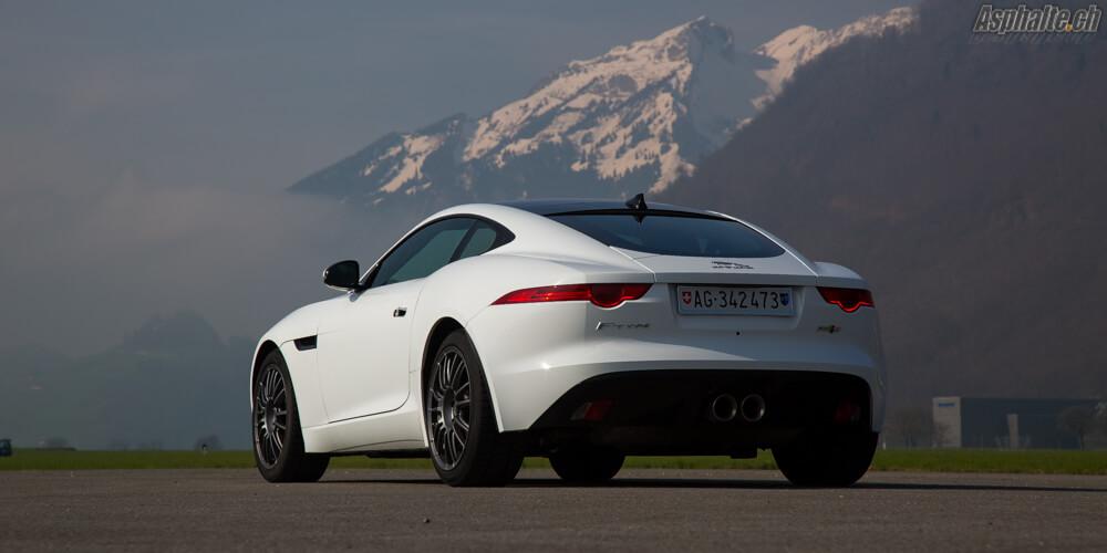 Essai Jaguar F-Type Coupé 3.0 S/C AWD