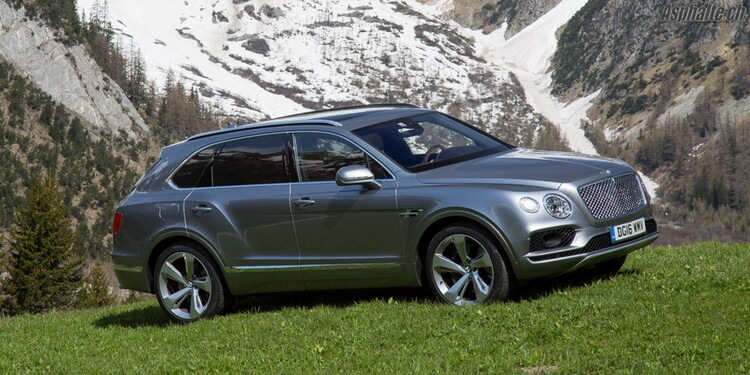 Essai Bentley Bentayga