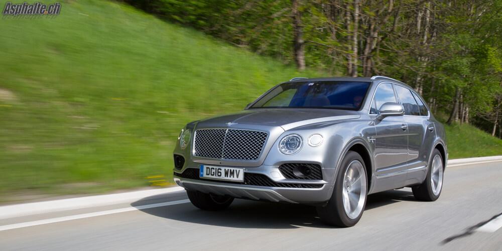 Essai Bentley Bentayga