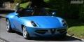 Alfa Romeo Disco Volante par Touring Superleggera