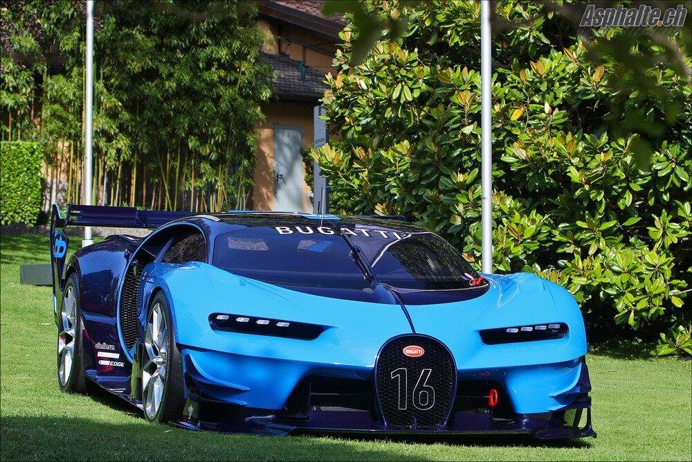 Villa d'Este 2016 Bugatti Vision Gran Turismo