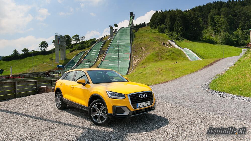 Essai Audi Q2 Asphalte Ch