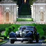 Mercedes 540 K Autobahnkurier coupé 1938. Elle a remporté la Coppa d'Oro Villa d'Este cette année. Concurrent: Arturo Keller (MEX)