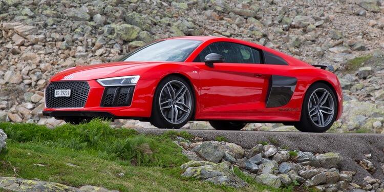 Essai Audi R8 V10 Plus Insolente Asphalte Ch