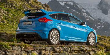 Essai Ford Focus 3 RS Nitrous Blue